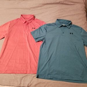 Two underarmour polos